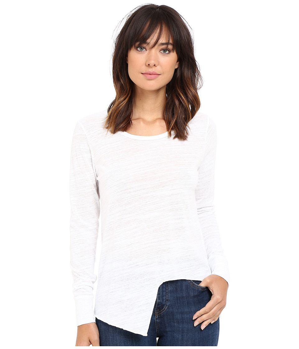 LNA - Uneven Marrow Long Sleeve (White) Women
