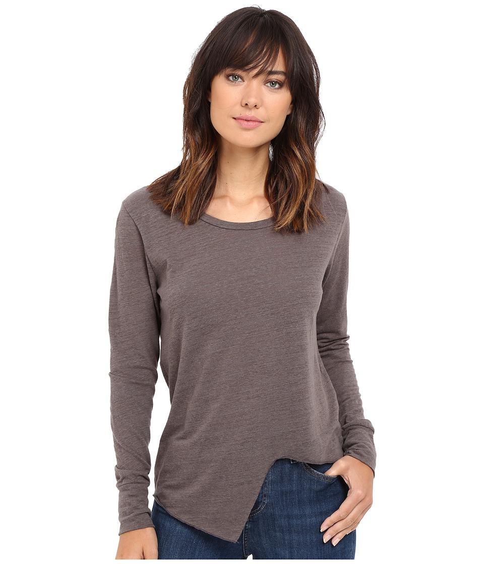 LNA - Uneven Marrow Long Sleeve (Carbon) Women