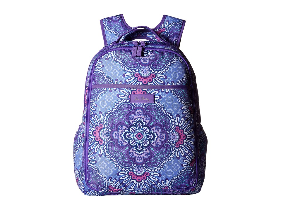 Vera Bradley - Lighten Up Backpack Baby Bag (Lilac Tapestry) Backpack Bags