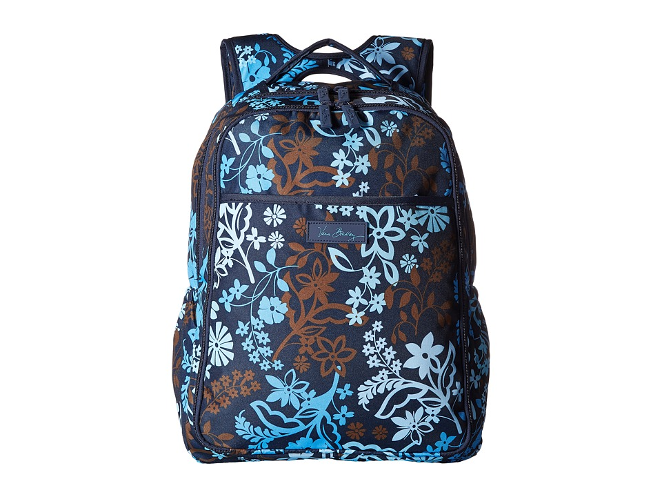 Vera Bradley - Lighten Up Backpack Baby Bag (Java Floral) Backpack Bags