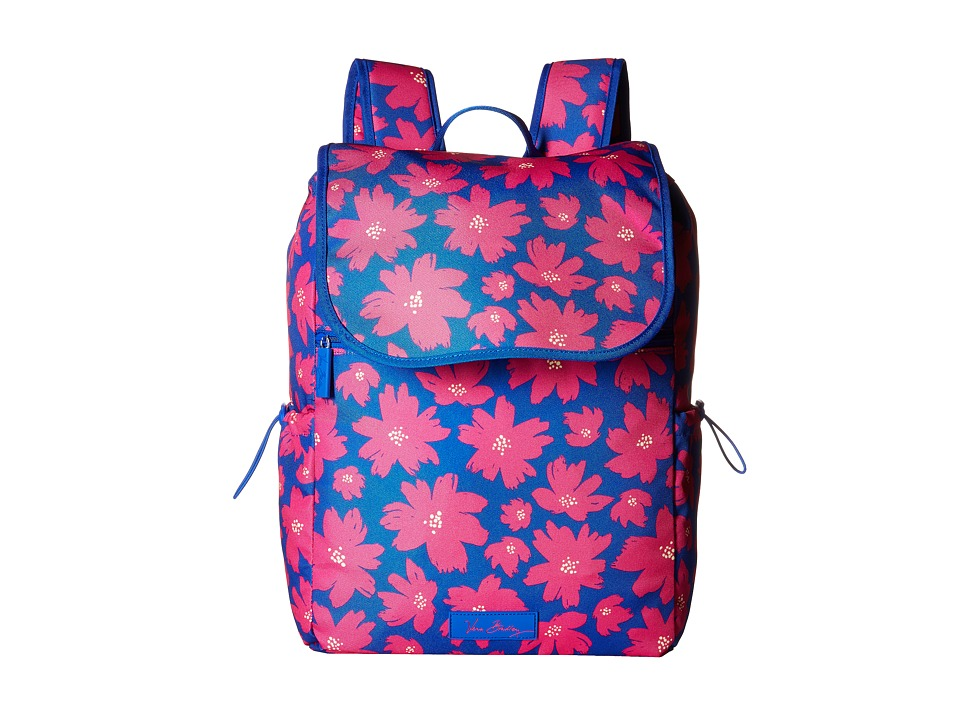 Vera Bradley - Lighten Up Drawstring Backpack (Art Poppies) Backpack Bags