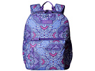 Image of Vera Bradley - Lighten Up Grande Laptop Backpack (Lilac Tapestry) Backpack Bags