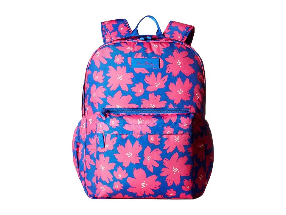 Vera Bradley Lighten Up Grande Laptop Backpack (Art Poppi...