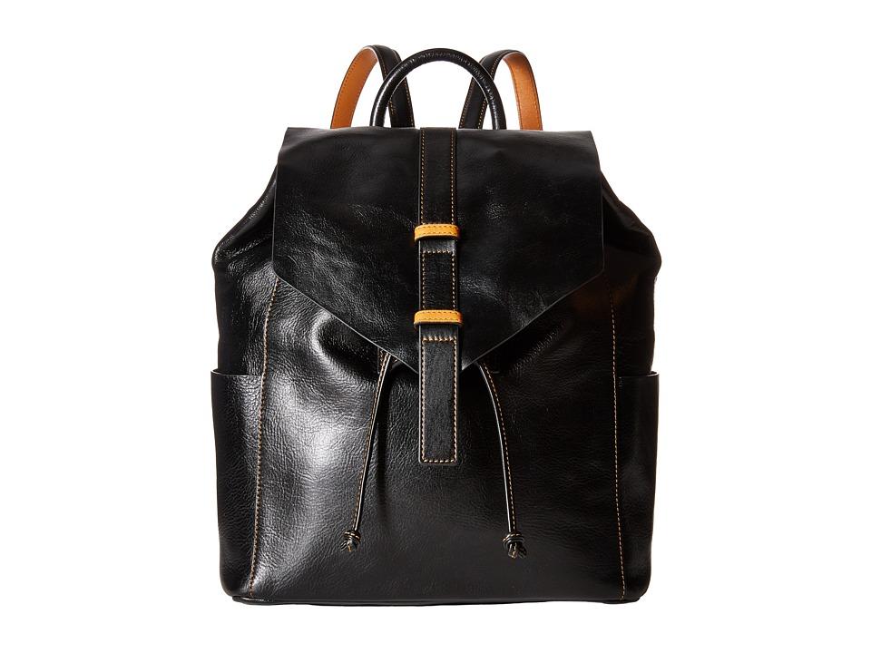 Vera Bradley - Big Sky Backpack (Black) Backpack Bags