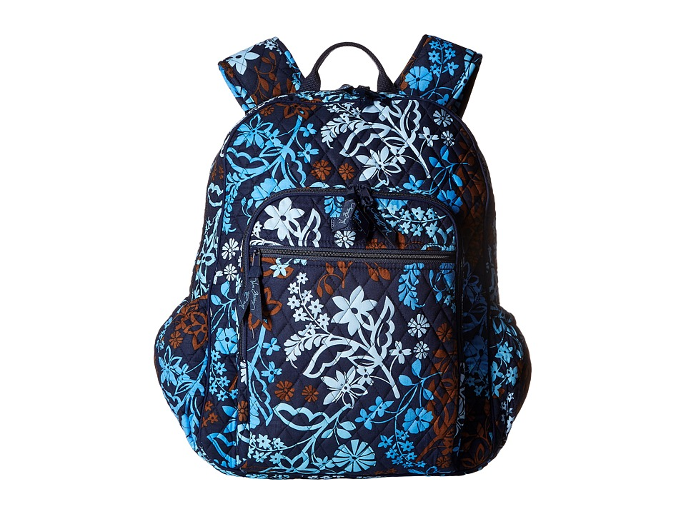 Vera Bradley - Campus Tech Backpack (Java Floral) Backpack Bags