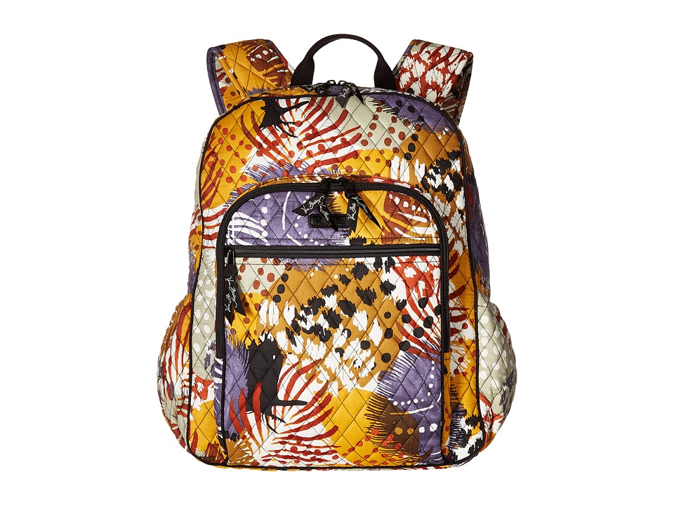 Vera Bradley - Campus Tech Backpack (Painted Feathers) Backpack Bags