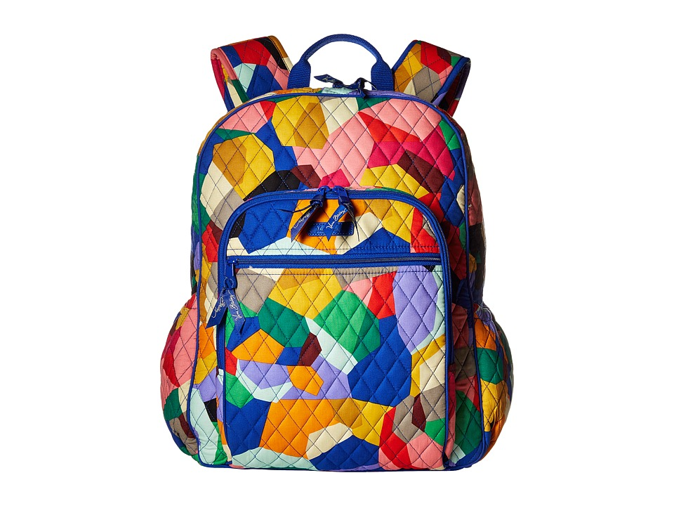 Vera Bradley - Campus Tech Backpack (Pop Art) Backpack Bags