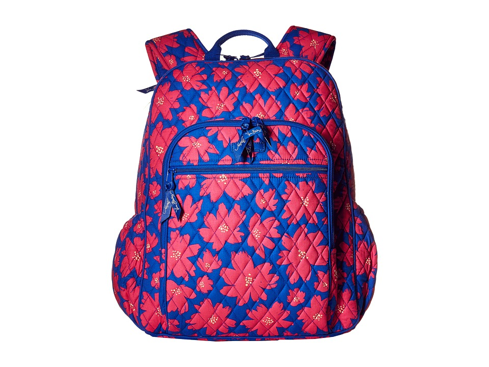 Vera Bradley - Campus Tech Backpack (Art Poppies) Backpack Bags
