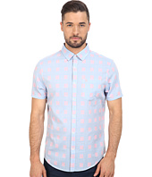 Original Penguin - Short Sleeve Chambray Neon Dobby Heritage