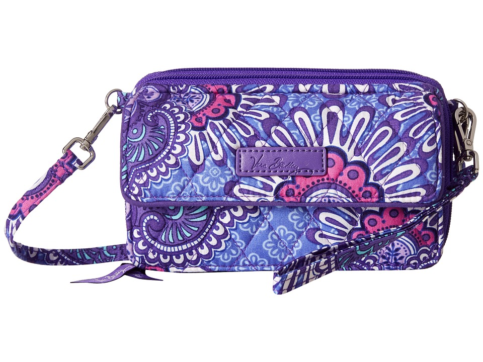 Vera Bradley - All in One Crossbody for iPhone 6+ (Lilac Tapestry) Clutch Handbags