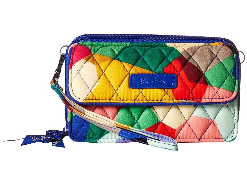 Vera Bradley - All in One Crossbody for iPhone 6+ (Pop Art) Clutch Handbags