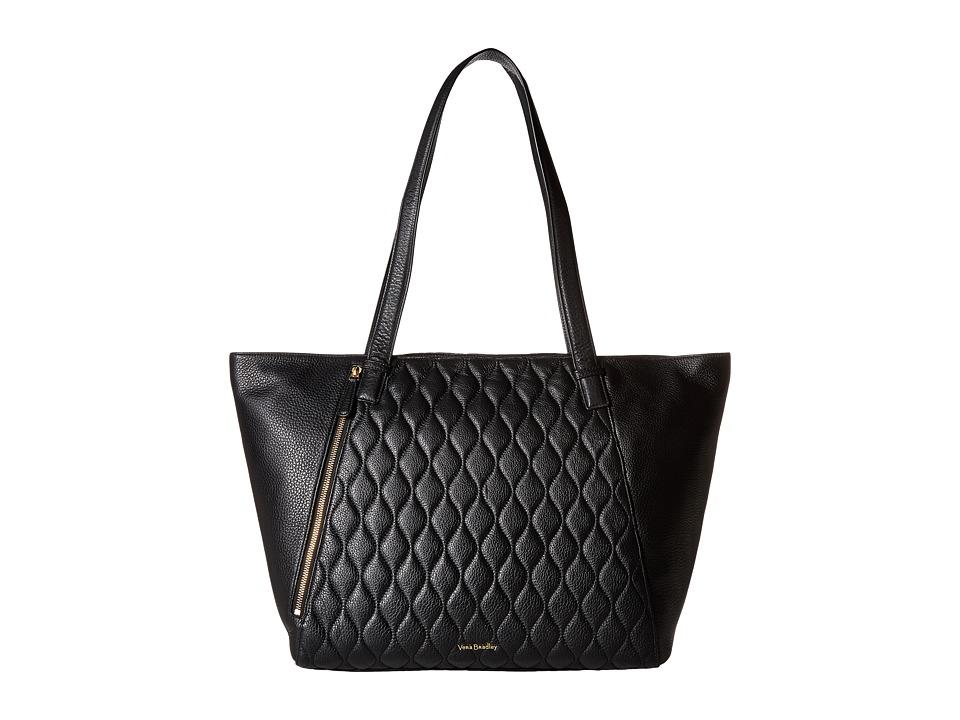 Vera Bradley - Avery Tote (Black) Tote Handbags