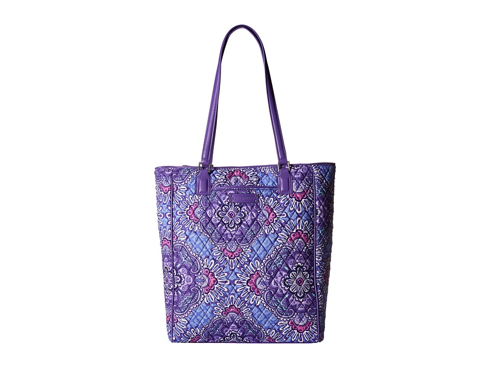 Vera Bradley - Crosstown Tote (Lilac Tapestry) Tote Handbags