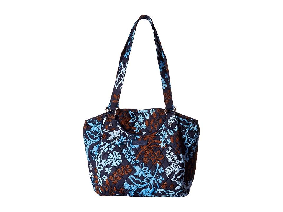 Vera Bradley - Glenna (Java Floral) Tote Handbags