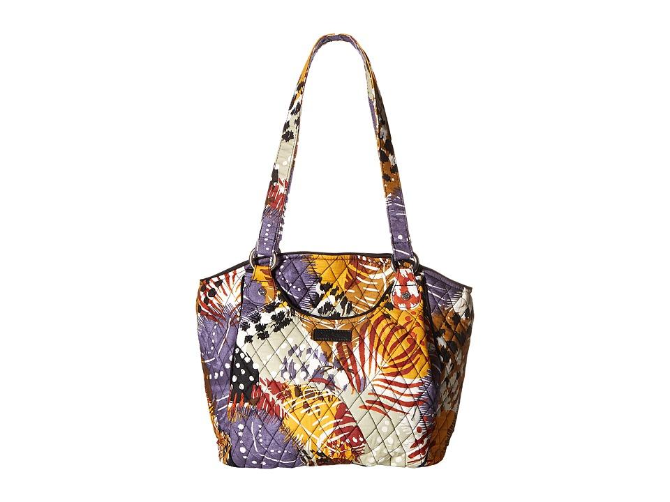 Vera Bradley - Glenna (Painted Feathers) Tote Handbags
