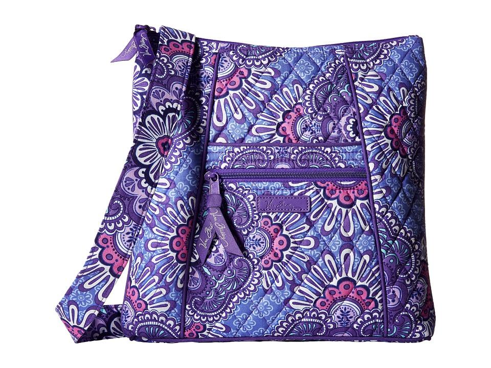 Vera Bradley - Hipster (Lilac Tapestry) Cross Body Handbags