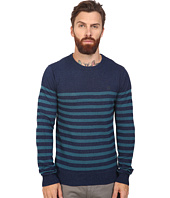 Original Penguin - Long Sleeve True Indigo Crew Neck Lightweight Sweater