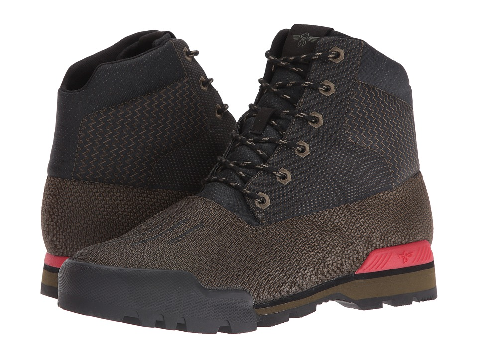 Creative Recreation Torello (Military Black/Primary Red) Men