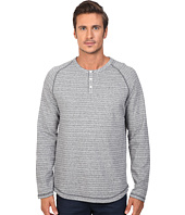 Original Penguin - Long Sleeve Lightweight French Terry Henley