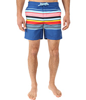 Original Penguin - Carryover Stripe Fixed Volley Swim Shorts