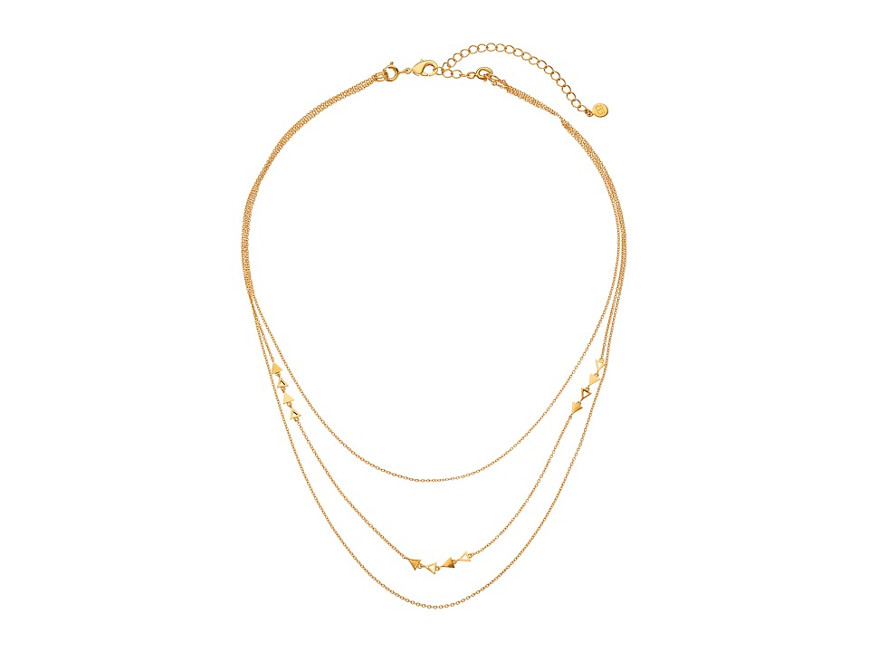 gorjana Diy Mika Chain 3 Layer Necklace Gold Necklace