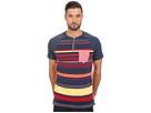 Lot Stripe Knit Henley