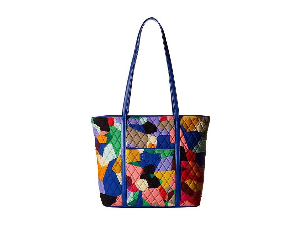 Vera Bradley - Small Trimmed Vera (Pop Art) Tote Handbags