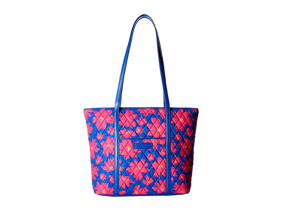 Vera Bradley - Small Trimmed Vera (Art Poppies) Tote Handbags