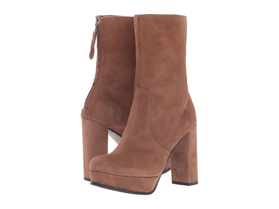 Kennel & Schmenger - Mid Height Platform Boot (Cuir Suede) Women