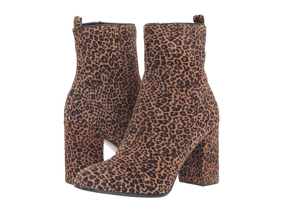 Kennel & Schmenger - Leopard Bootie (Leopard Haircalf) Women