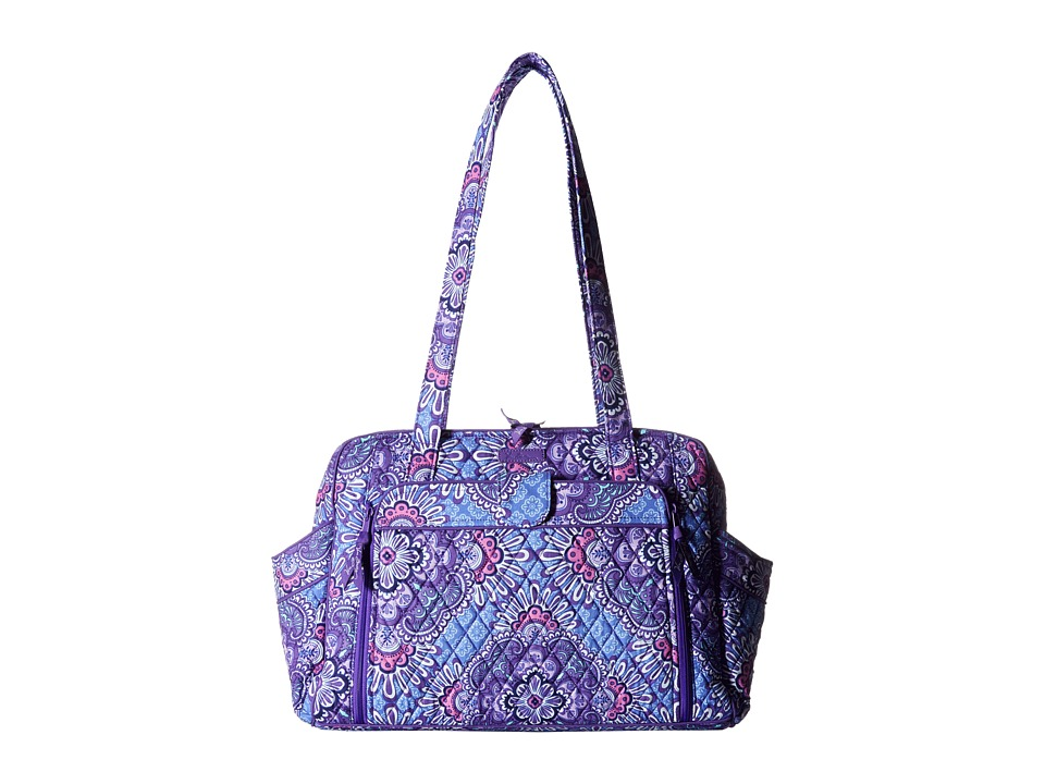 Vera Bradley - Stroll Around Baby Bag (Lilac Tapestry) Diaper Bags