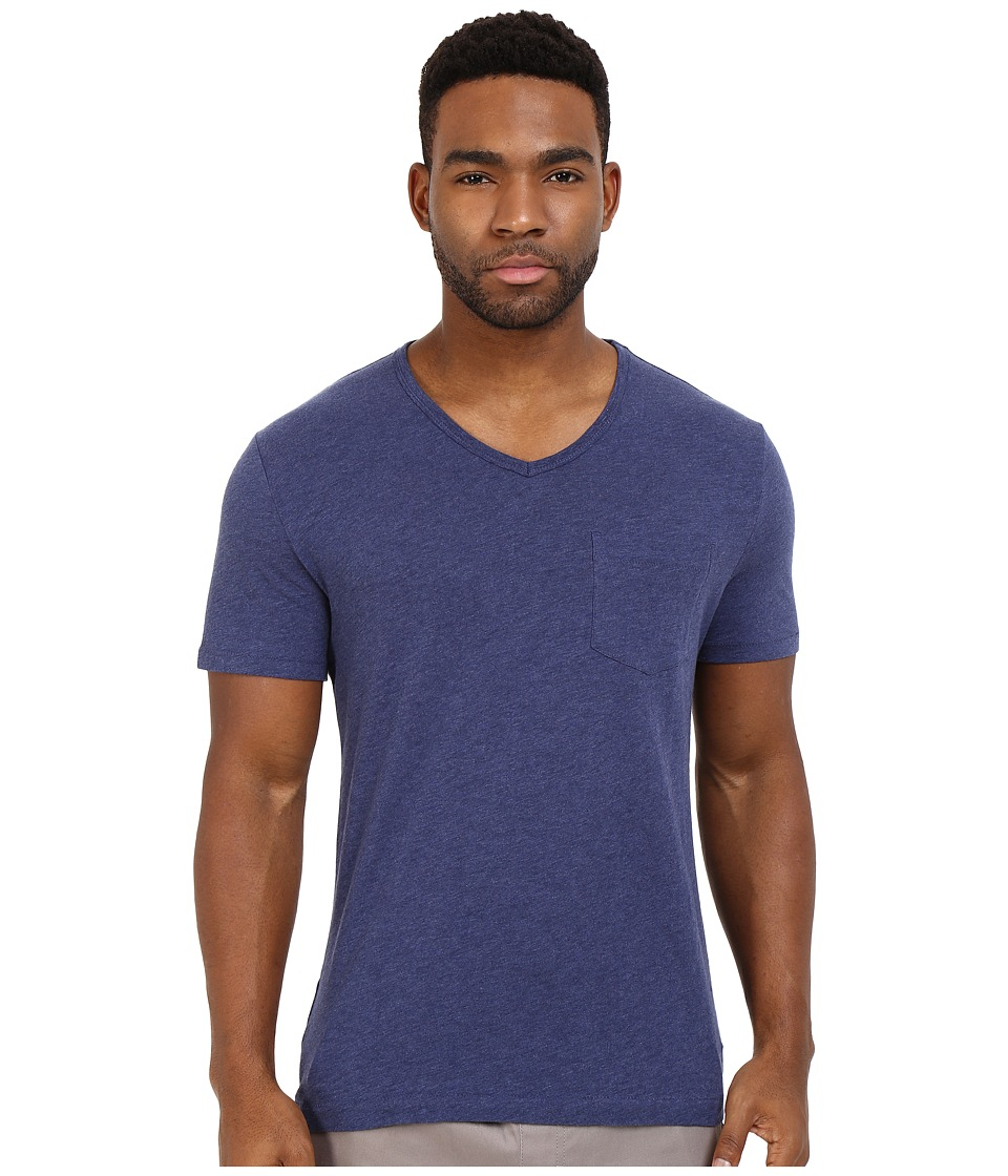 Original Penguin Bing V Neck Deep Cobalt Mens T Shirt