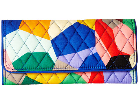 Vera Bradley Trifold Wallet - Pop Art
