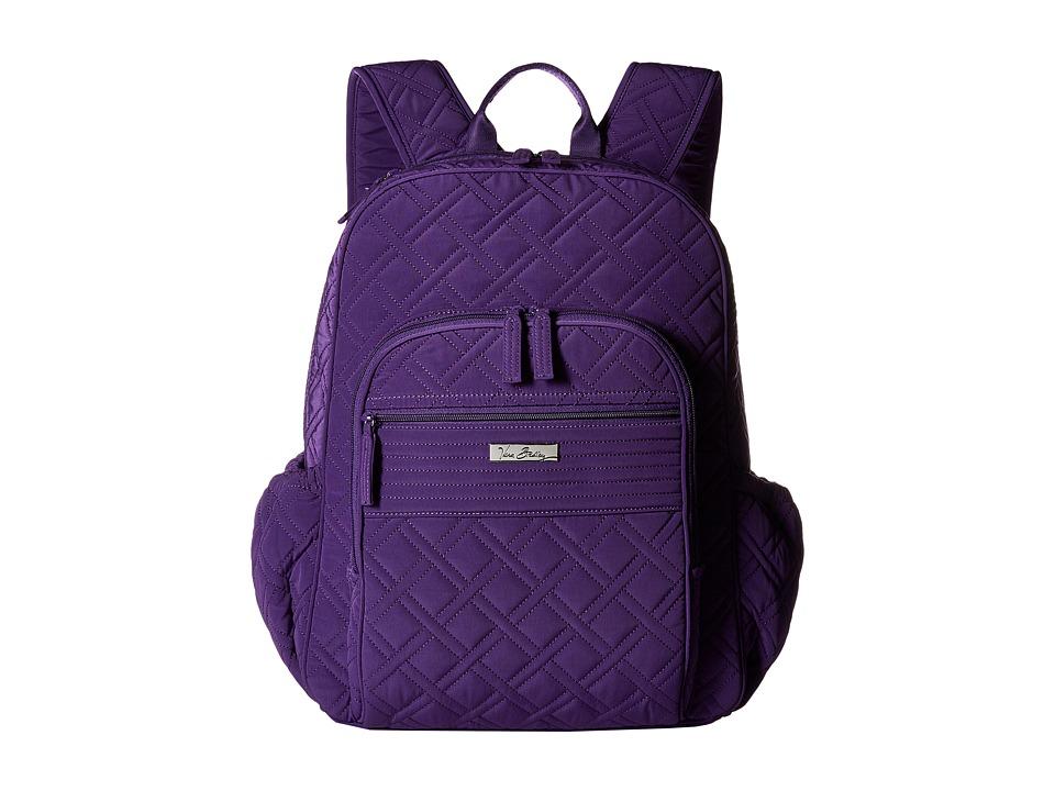 Vera Bradley - Campus Tech Backpack (Elderberry) Backpack Bags