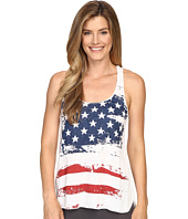 P.J. Salvage - Distressed Stars and Stripes Tank Top