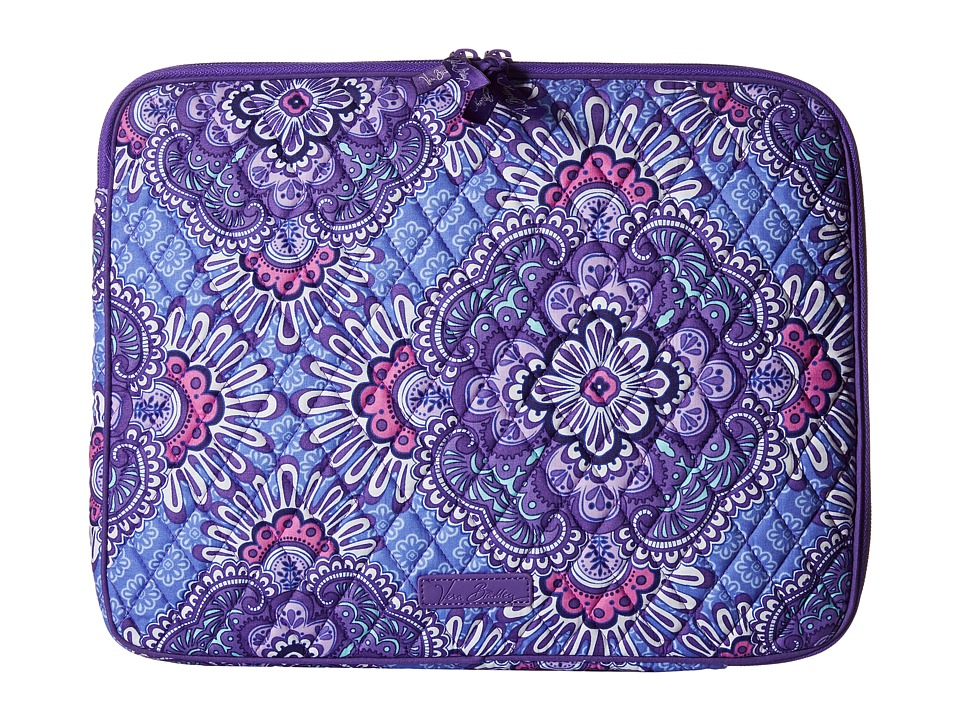 Vera Bradley Laptop Sleeve (Lilac Tapestry) Computer Bags