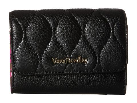 Vera Bradley Riley Compact Wallet - Black