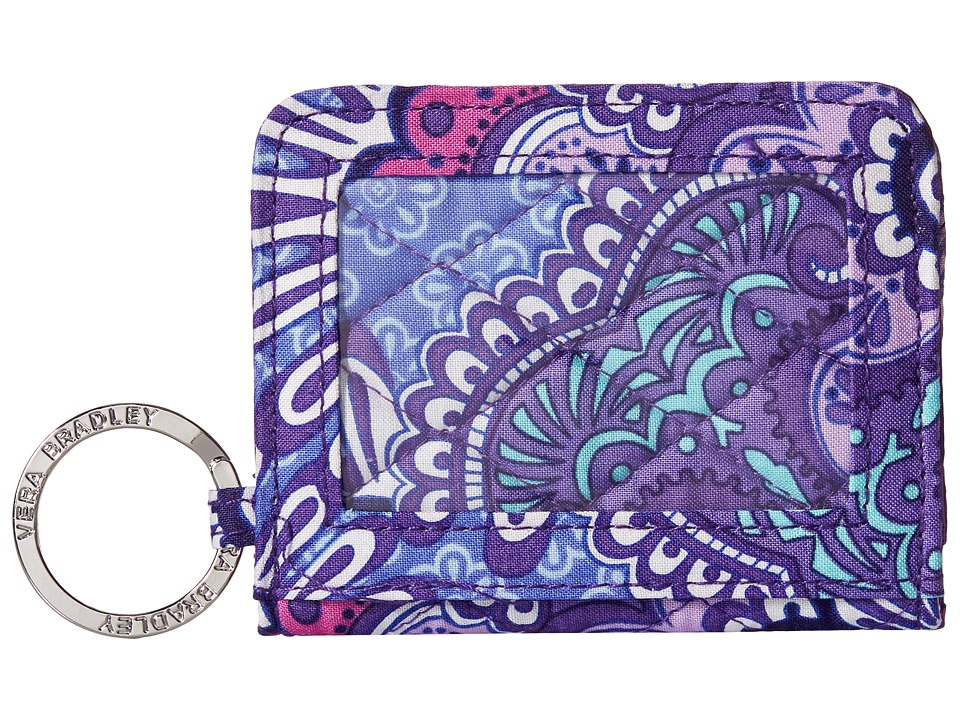 Vera Bradley - Campus Double ID (Lilac Tapestry) Wallet