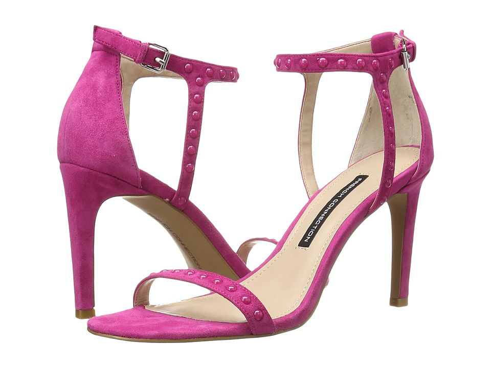 French Connection - Libby (Cruise Pink Kid Suede) Women