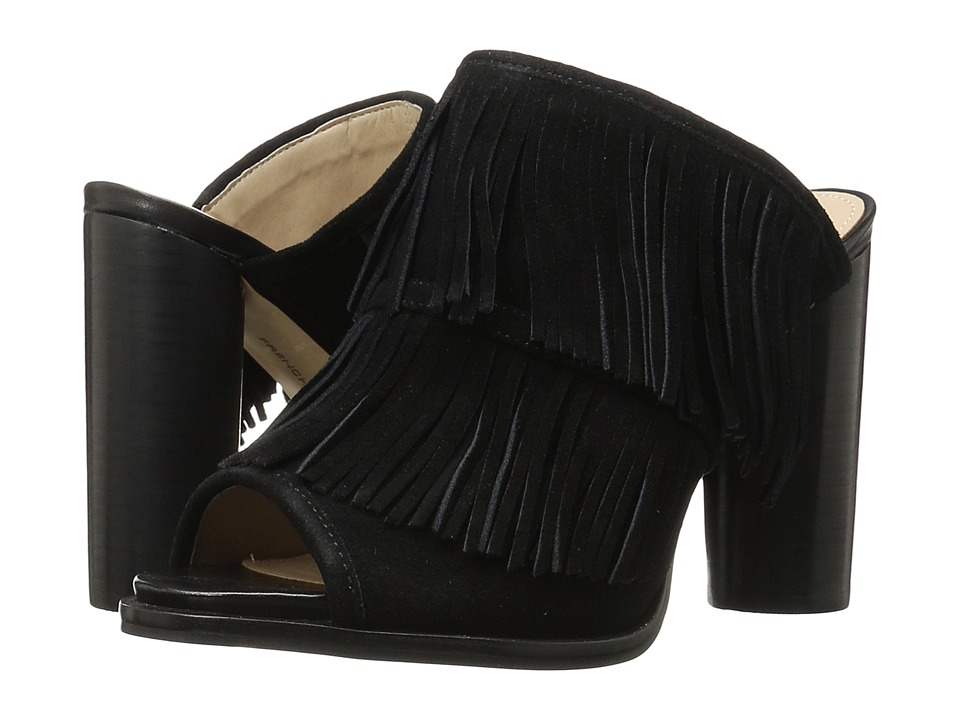 French Connection - Uriah (Black Split Suede) Women