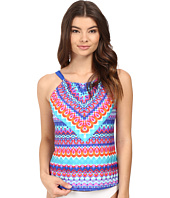Jantzen - Farah High Neck Over the Shoulder Tankini Top