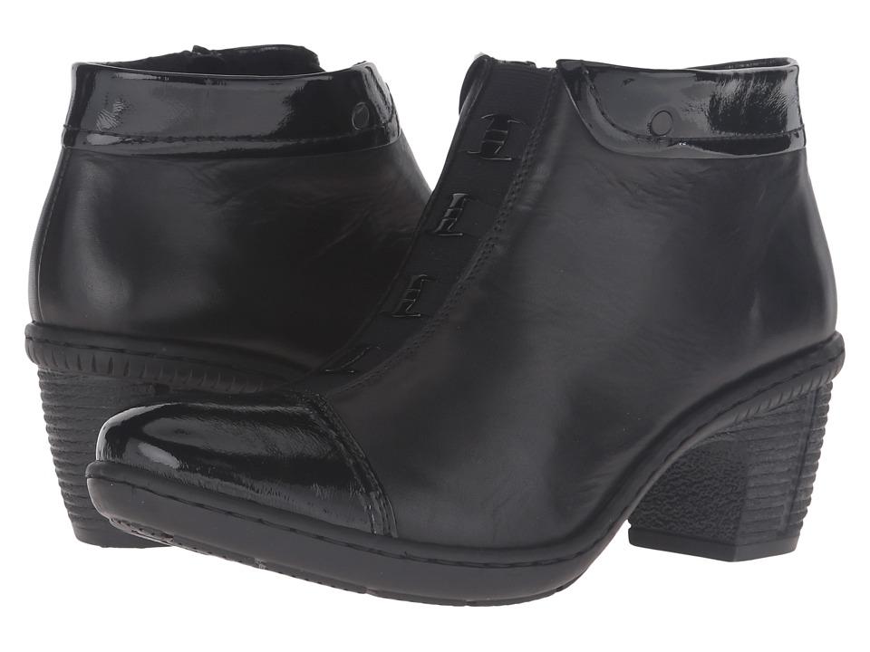 Rieker 50292 (Black/Black) Women