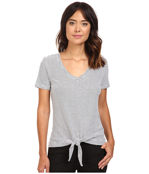 Splendid Codette Mini Rib V-Neck Tee