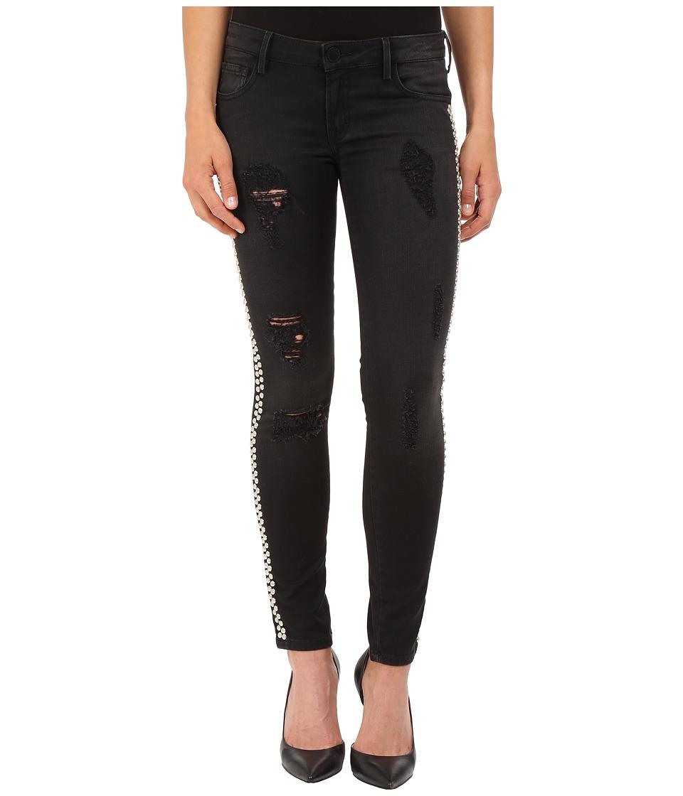 ETIENNE MARCEL EM7288 Studded Jeans Black Womens Jeans