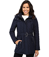 Tommy Hilfiger - Quilted Poly Cotton Jacket with Belt