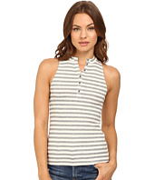Project Social T - Striped Polo Tank Top