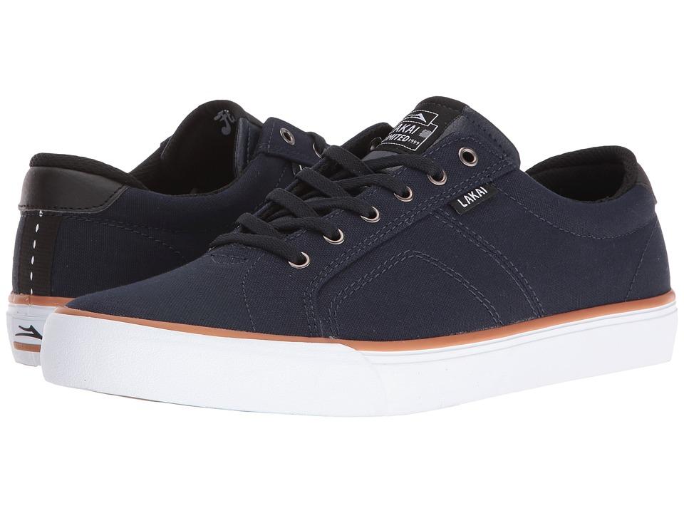 Lakai - Flaco (Midnight Canvas) Mens Skate Shoes