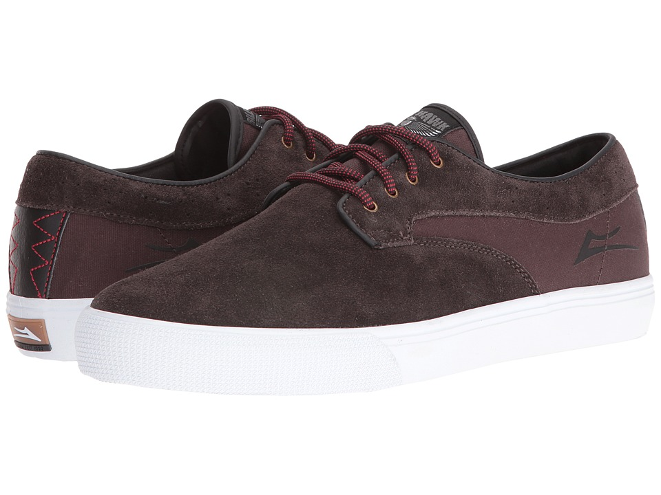 Lakai Riley Hawk (Chocolate Suede) Men