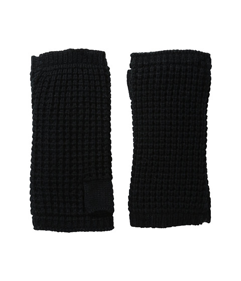 Hat Attack Waffle Knit Arm Warmer - Black