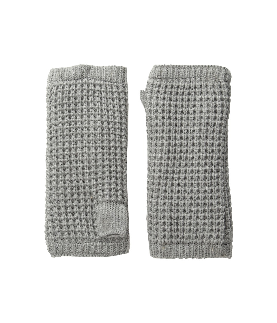 Hat Attack Waffle Knit Arm Warmer (Light Grey) Extreme Cold Weather Gloves